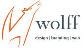 Wolff design branding web