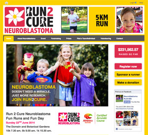 Run2Cure-website